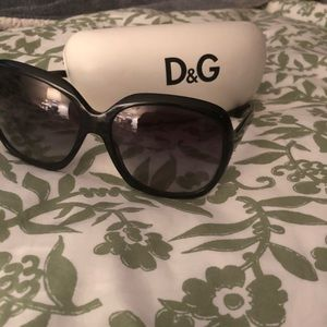 Dolce and Gabbana black sunglasses
